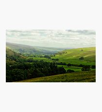Mist in the Dale Photographic Print