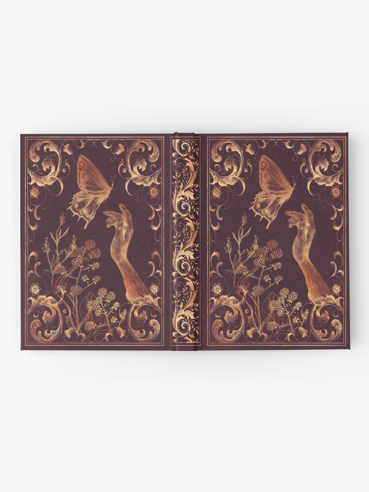 Alternate view of Vintage Butterfly Hardcover Journal