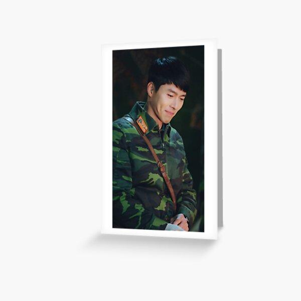 hyun bin Greeting Card
