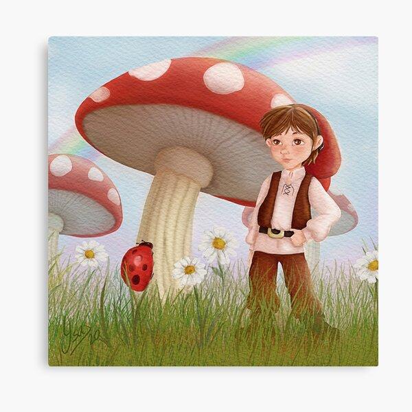 Ilustración fantasía infantil Lienzo