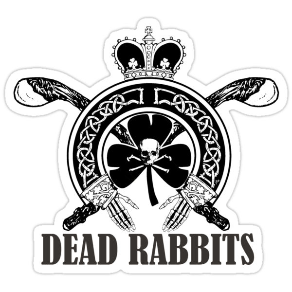 Dead Rabbits (Black and Whited Edition) by ZugArt