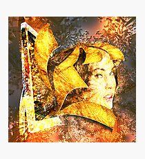 Hi tech Godess by Annabellerockz Photographic Print