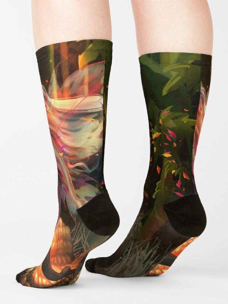 Alternate view of Corn Fairy Madness Socks