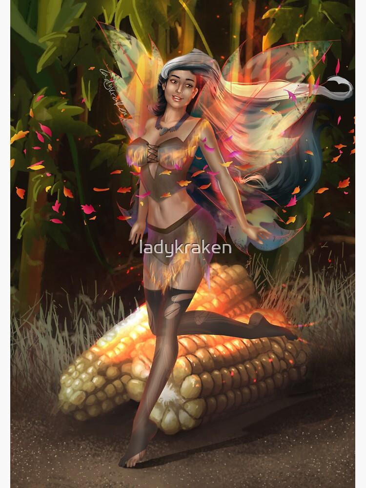Corn Fairy Madness by ladykraken