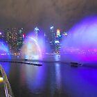 Singapore by night 5 by Adri  Padmos