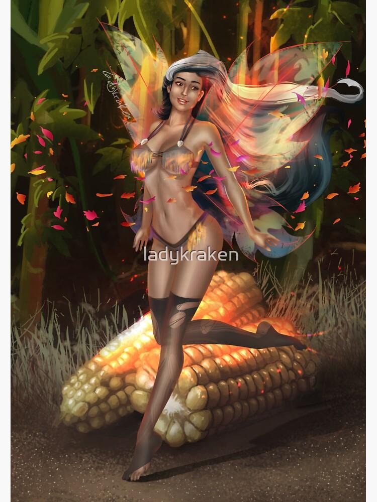 Corn Fairy Madness Bikini by ladykraken