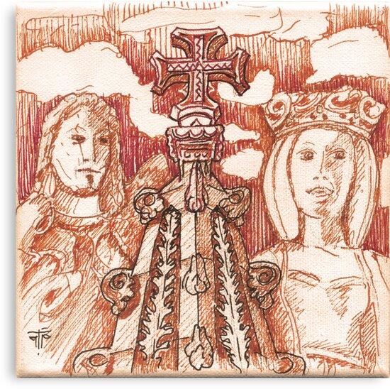 Jerónimos sketch I by terezadelpilar ~ art & architecture
