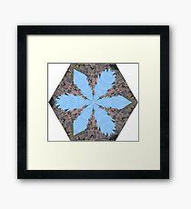Castle Kaleidoscope Image Framed Print