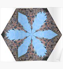 Castle Kaleidoscope Image Poster