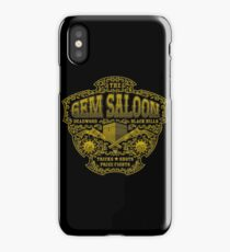The Gem Saloon  iPhone Case/Skin