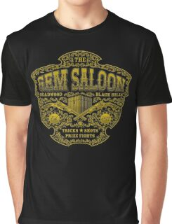 The Gem Saloon  Graphic T-Shirt