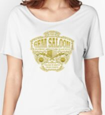 The Gem Saloon  Women's Relaxed Fit T-Shirt
