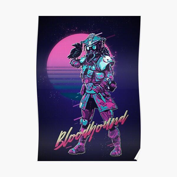 Apex Legends - Bloodhound 80s Retro Poster