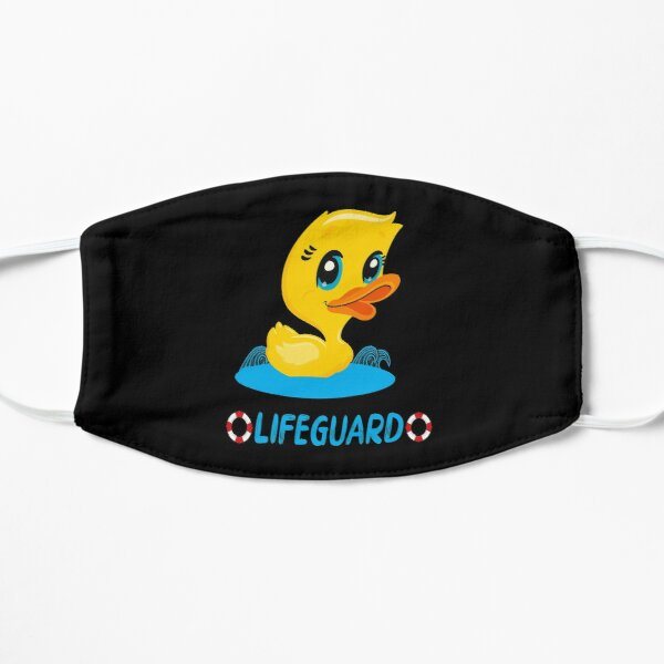 Lifeguard with the rubber duck Mask