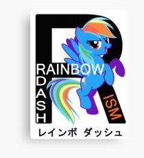 Rainbow-Dashism: MLP FiM Canvas Print