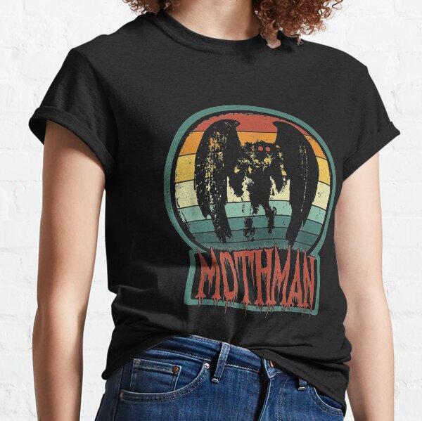 Mothman Point Pleasant Retro Vintage Cryptid Classic T-Shirt