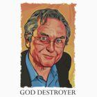 God Destroyer Richard Dawkins by Cloxboy