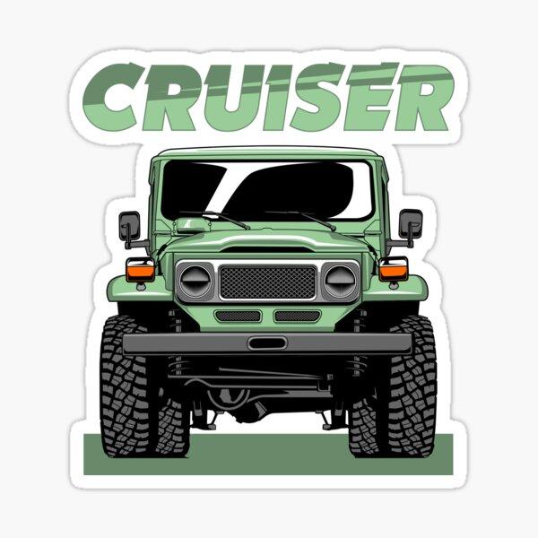 FJ 40 Land Cruiser Sticker
