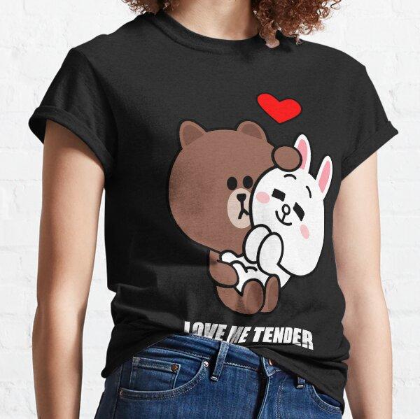 Brown und Cony lieben mich zart Classic T-Shirt