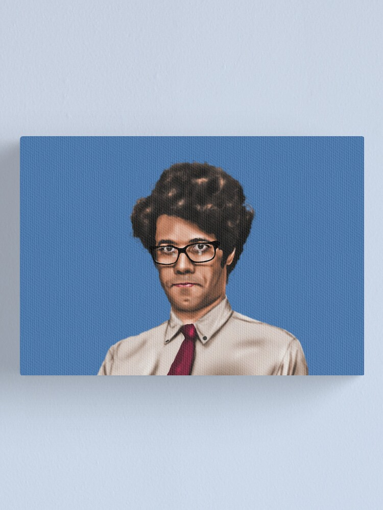 Alternate view of Richard Ayoade Canvas Print