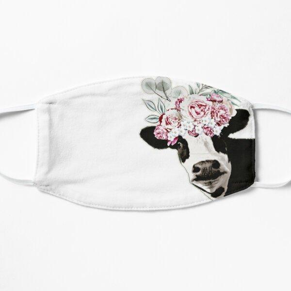 Boho Cow Flat Mask