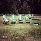 End of summer in Hyde Park... by Louise LeGresley