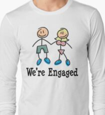 "Engagement Engaged ""We're Engaged"" T-Shirt"