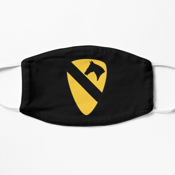 1st Cavalry Division Patch Patriotic Mask