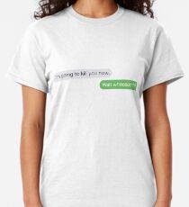 Camiseta clásica ¿Esperar lo?