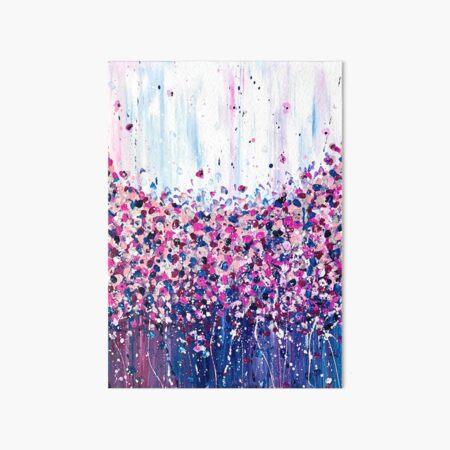 Confetti Chaos Art Board Print