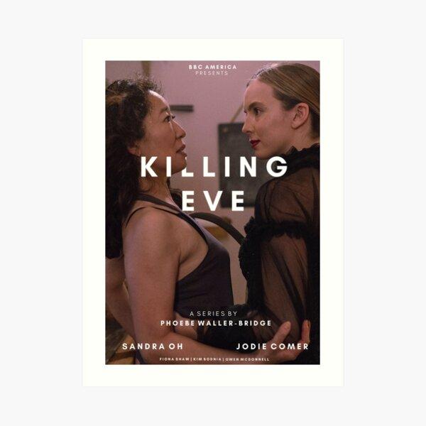 Killing Eve Title Post Impression artistique