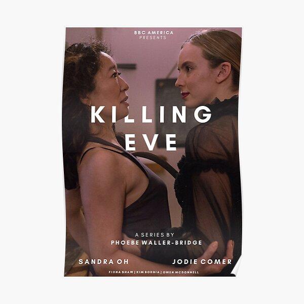 Killing Eve Title Post Póster