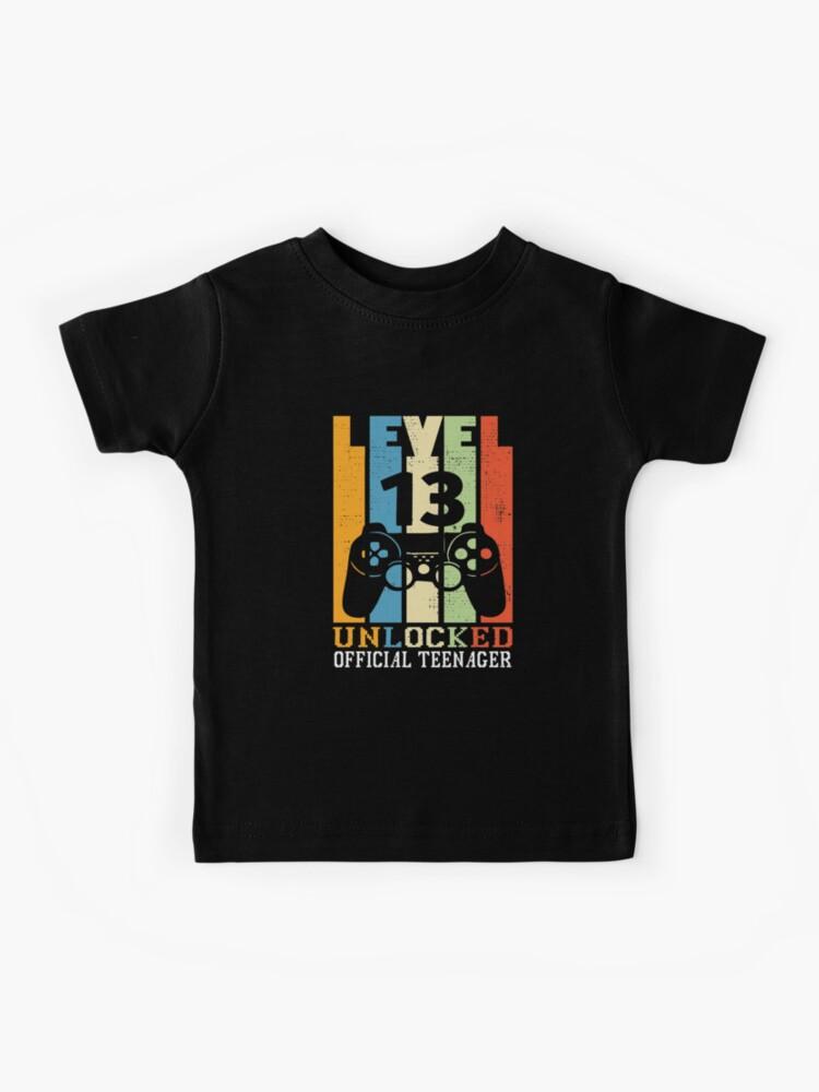 Lachlan T-shirt noir pour enfants Gaming Gamer youtuber FAN Taille XL 12-13