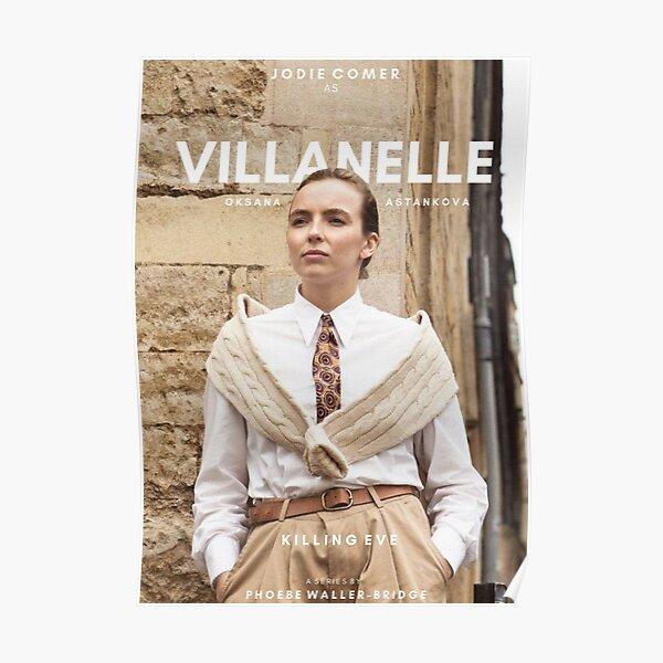 Diseño de Villanelle Póster