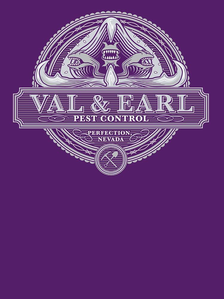 Val & Earl, Schädlingsbekämpfung von heavyhand