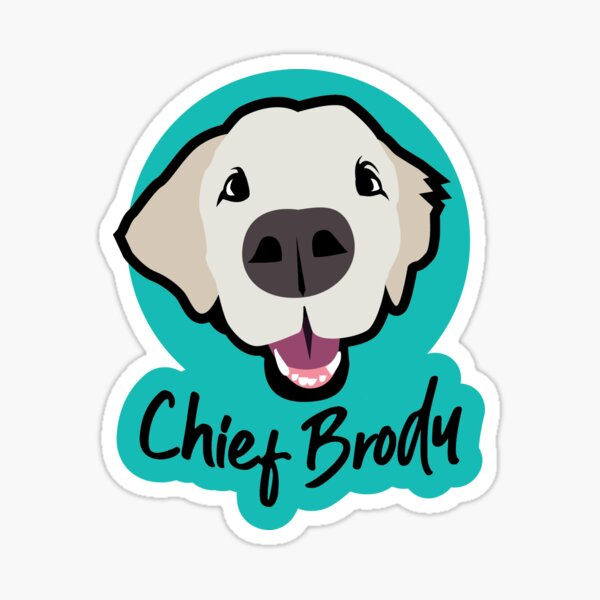 Chief Brody Sticker