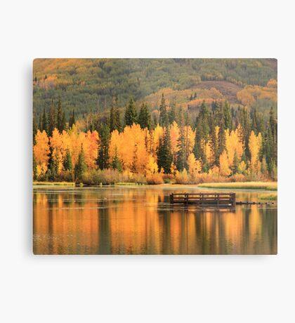 Autumn Calm Metal Print