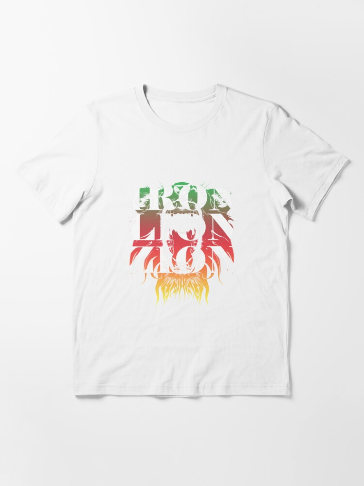Alternate view of Iron Lion Zion T shirt Essential T-Shirt