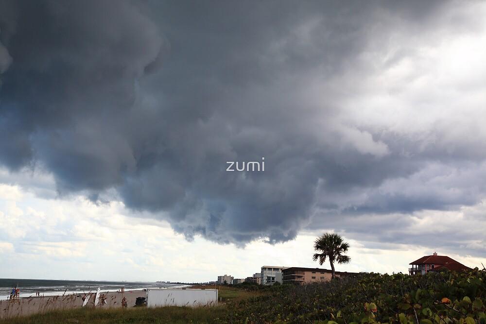Heavy clouds II by zumi