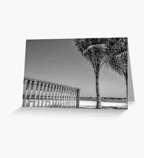 Montagu Beach in Eastern Nassau, The Bahamas Greeting Card