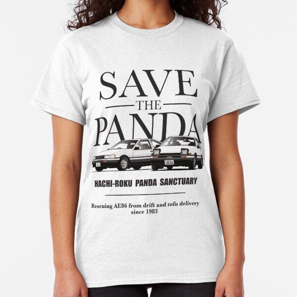 Save the Panda AE86  Camiseta clásica