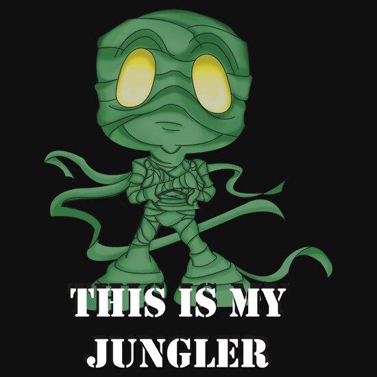 TShirtGifter presents: This is My Jungler | Unisex T-Shirt