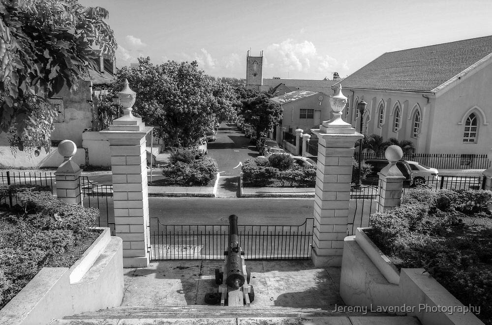 View of Downtown Nassau from Government House - The Bahamas by Jeremy Lavender Photography