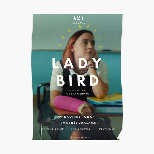 Affiche alternative Lady Bird Poster