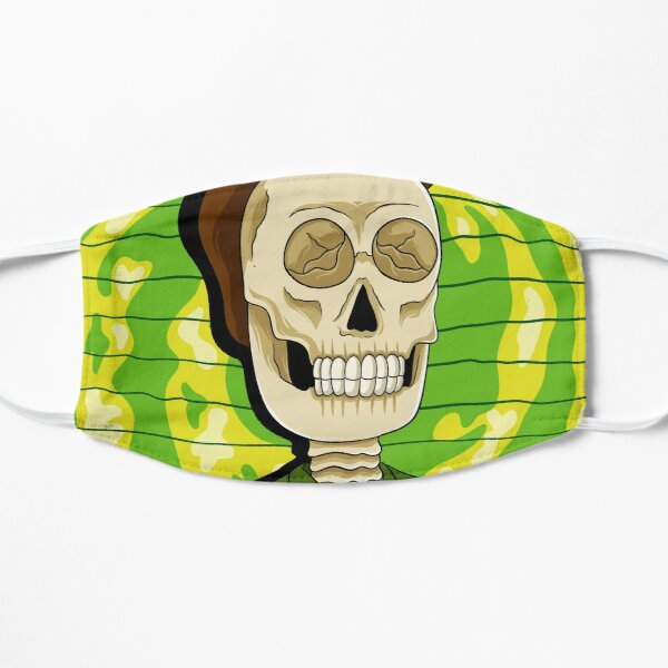 jerry rick and morty skull Mask