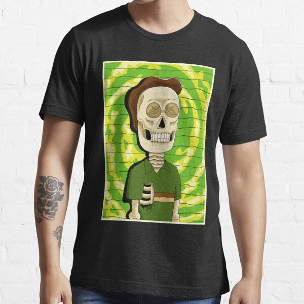 jerry rick and morty skull Essential T-Shirt