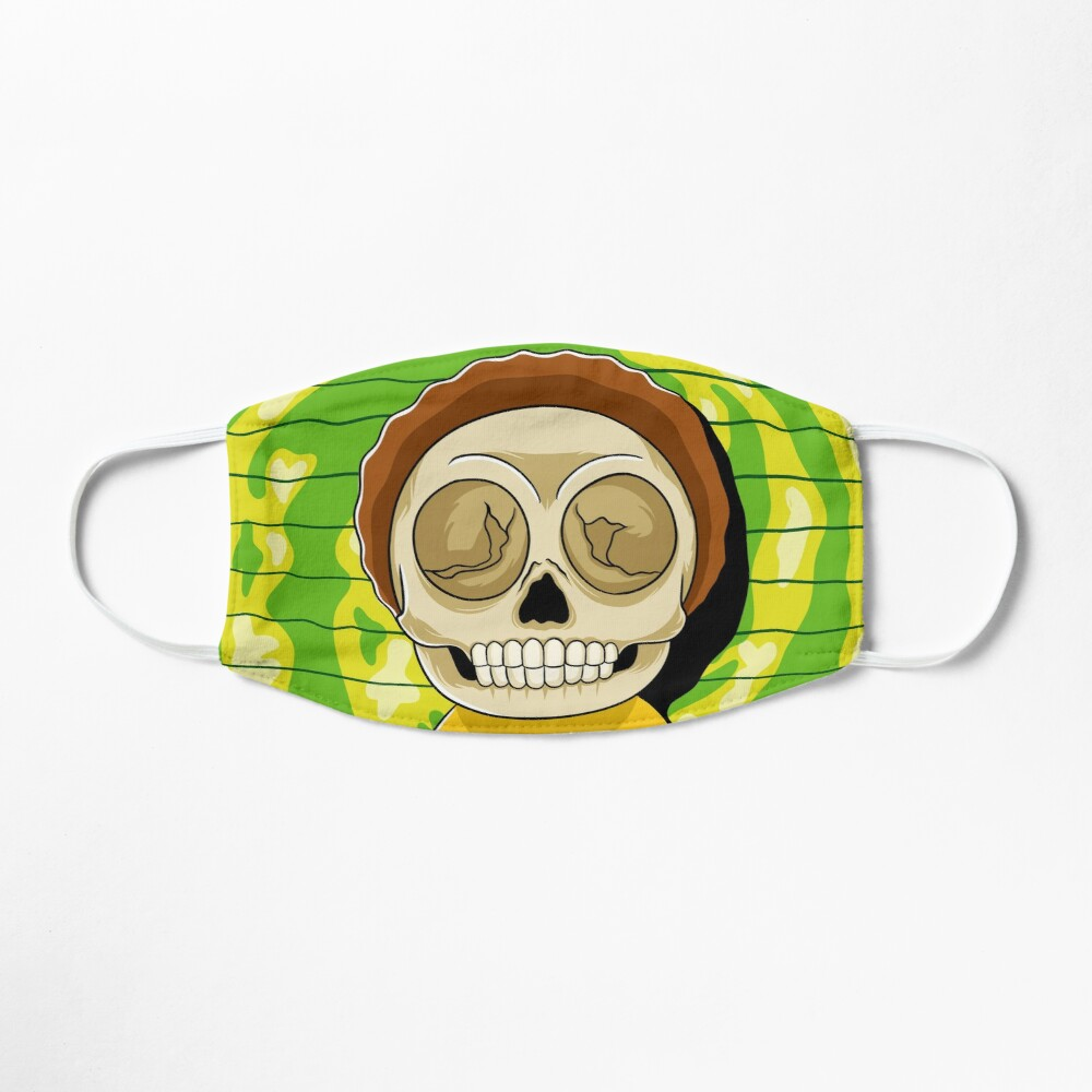 morty  rick and morty skull Mask