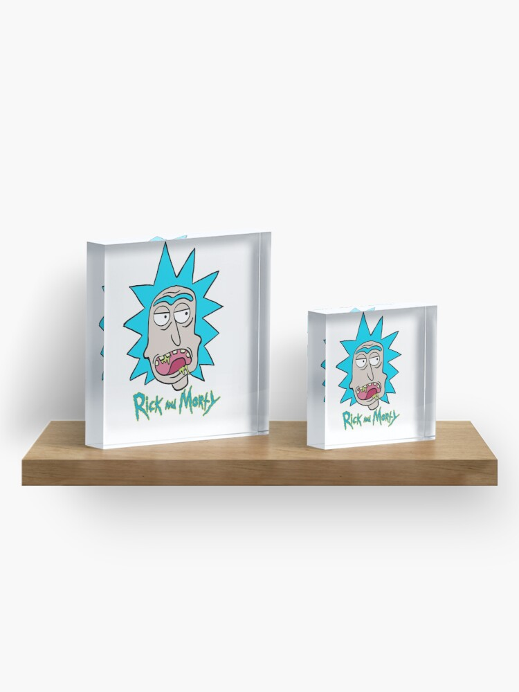 Alternate view of Slobber Rick Acrylic Block