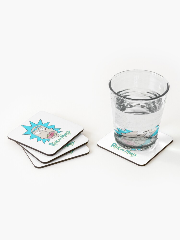 Alternate view of Slobber Rick Coasters (Set of 4)