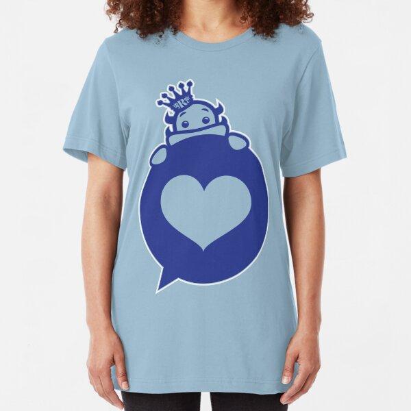 Glorious Monster Love Blue Variant  Slim Fit T-Shirt